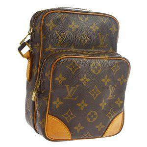 Auth Louis Vuitton Amazon Cross Body #4715L36B